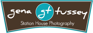 Gena Tussey Station House Photography Logo